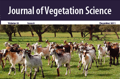 Portada de 'Journal of Vegetation Science'